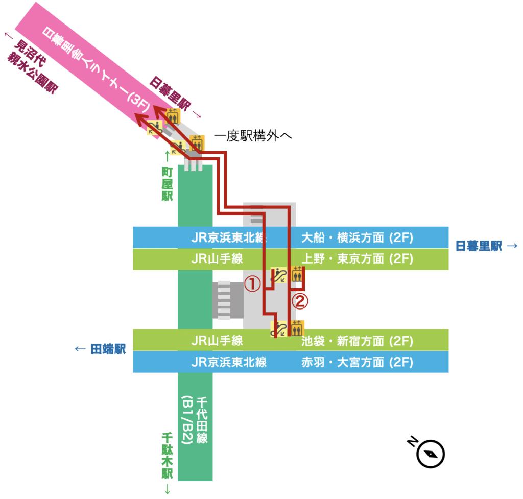 駅 西 日暮里 地区別再開発事業概要 日暮里駅前地区/荒川区公式サイト